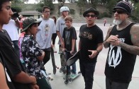 Fieldy and Christian Hosoi Share Their Faith at Laguna Skate Park
